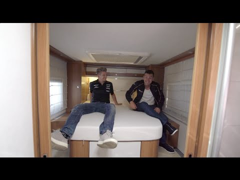 F1: Off the Grid: Monza - Nico Hulkenberg's Sweet Custom RV