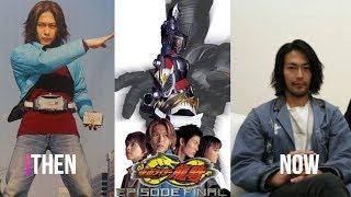 Then And Now Kamen Rider Ryuki Cast