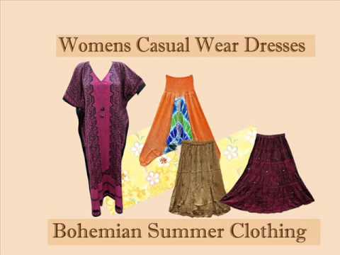Bohemian Summer Clothing By Mogulinteriordesigns