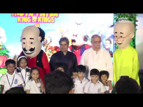 Motu Patlu King Of Kings Movie Music Launch - Gulzaar & Vishal Bhadwaj thumbnail