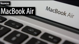 Présentation-test d'un MacBook Air 13 (2012)