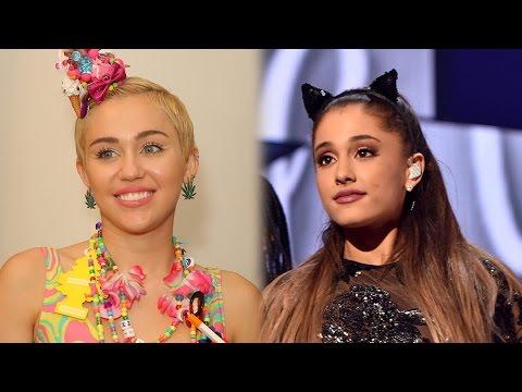 Ariana Grande Calls Miley Cyrus For Advice