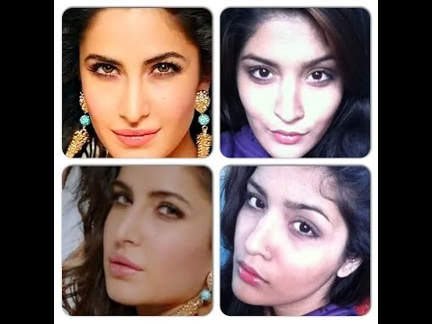 Katrina Kaif Dhoom 3 Inspired Makeup Look-soft Plum Smokey Eye And Nude Pink Lips video
