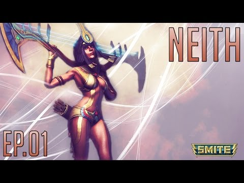Smite Neith Gameplay -Ep.01-