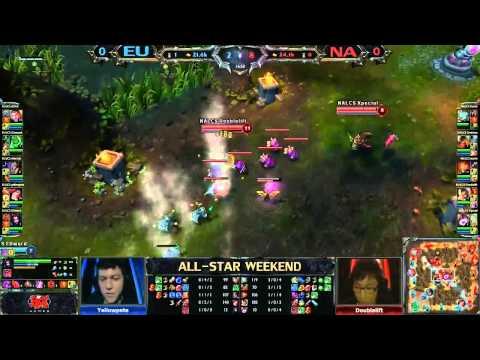 All-Star Shanghái 2013 - LCS Europa vs LCS NA - Partida 1 - LoL en Español