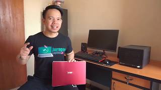 Unboxing & Review Laptop Gaming Harga Miring - ACER SWIFT 3 SF314-56G LAVA RED