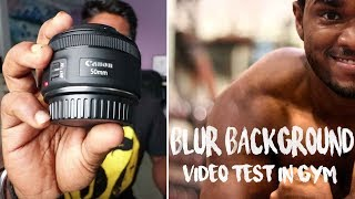 Canon 50mm f/1.8 STM Review | Video Test | Photo Test | Why My Favorite Lens | Vlog 16th