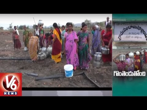 Khammam District Repallewada Villagers Facing Problems With Lack Of Drinking Water | V6 News