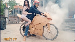 Chế tạo ducati panigale v4s từ xe đạp | kawasaki z1000 | nhết tv