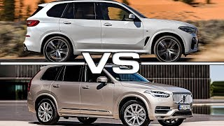 2019 BMW X5 vs 2018 Volvo XC90 Technical Specifications