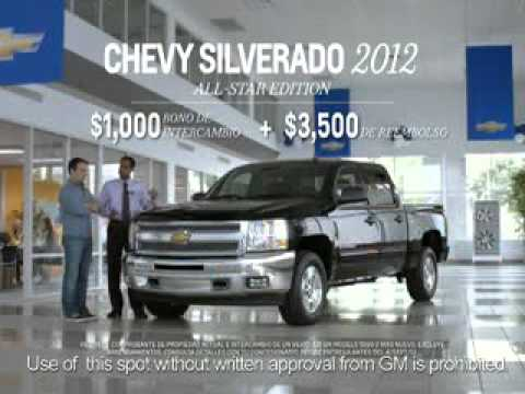 Spanish Verson of Chevy Confidence Sale at Fitzpatrick Auto Northwest Iowa