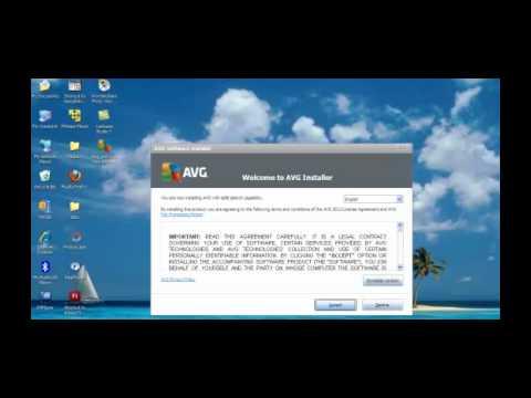 วิธีการติดตั้ง AVG Antivirus free edition 2012