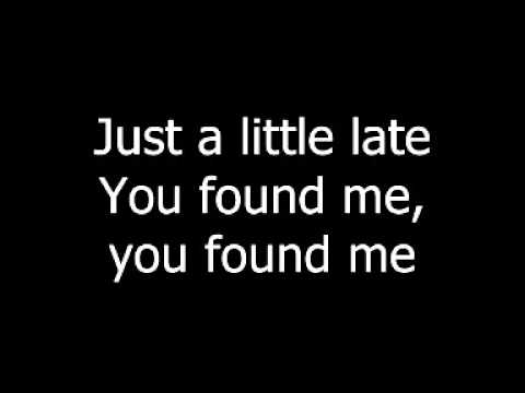 The Fray - You Found Me lyrics