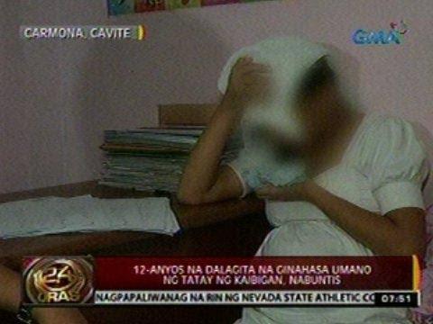 24 Oras: 12-anyos na dalagita na ginahasa umano ng tatay ng kaibigan, nabuntis