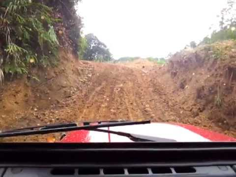 Asia Rocsta Off Road on a Logging Road in Cameron Highlands Part 3