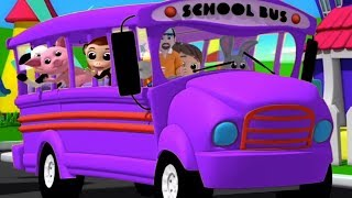 The Wheels On The Bus   Nursery Rhymes For Kids   Children Songs   Baby Rhymes