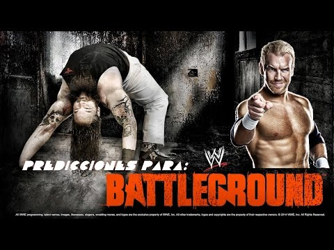 Loquendo Predicciones Para WWE Battleground 2014