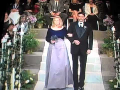 Peter duchin band plays live wedding on regis kathie for Frank and kathie lee gifford wedding