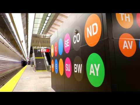 MTA New York City Subway : 86th Street [ 2nd Avenue Subway Line ]