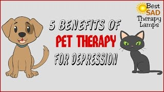 Pet Therapy For Depression - 5 Benefits