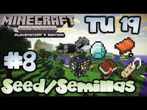 [Semillas/Seed TU 19] | Sillas de Montar, Armaduras,Nametag y mas | Minecraft Xbox y Playstation
