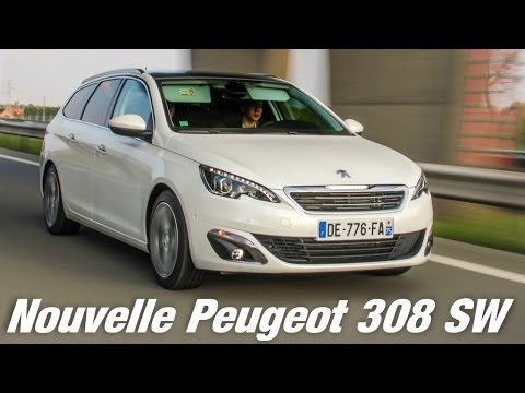 essai nouvelle peugeot 308 sw planete youtube. Black Bedroom Furniture Sets. Home Design Ideas