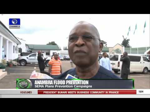News Across Nigeria :Residents fraustrated Over Flooded Streets In Asaba 16/09/15 Pt 1