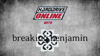 Benjamin Burnley of Breaking Benjamin Interview with hardDrive Radio
