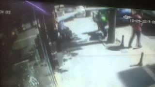 Bombalı Saldırıda, Vatandaşların Kaçışı Güvenlik Kamerasında