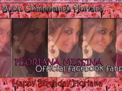 HAPPY BIRTHDAY FLORIANA