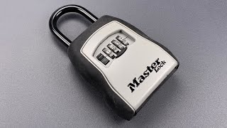 [969] A Faster Method: Decoding the Master Lock 5400D Key Box