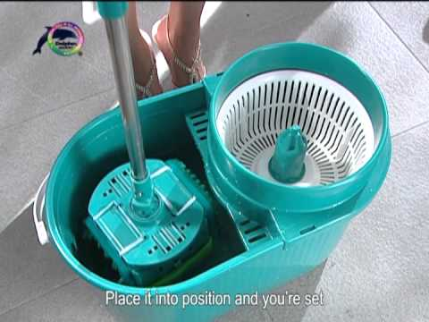 Mini Dolphin Flat Spin Mop