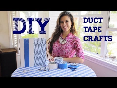 Back to School DIYs Using Scotch Duct Tape klip izle