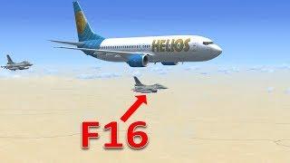 Tai nạn máy bay: Helios 522 và F16 tham gia ứng cứu