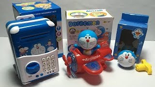 All New Doraemon Toys | Top, Piggy Bank,  Airplane