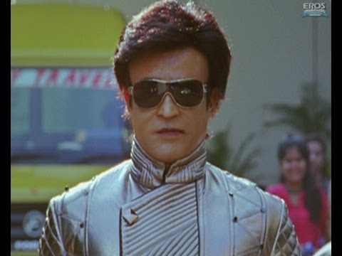 Chitti Meets G.one Sequence - Ra.one video