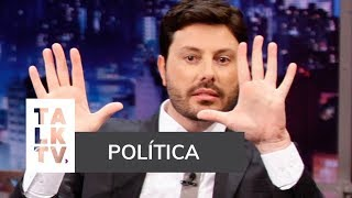 "DANILO GENTILI DISCUTE  MACHISMO, BOLSONARO E REVELA: ""SEMPRE ANULEI MEUS VOTOS"""