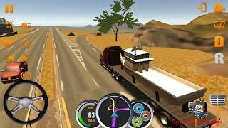 Truck Simulator Usa #1 - Boat Cargo Delivery To Nashville - Android Gameplay HD