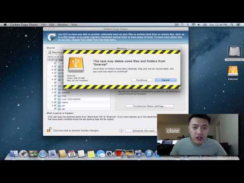 How to Clone Lion and Mountain Lion with Carbo Copy Cloner