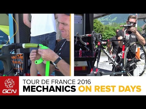 What Do Pro Cycling Team Mechanics Do On Rest Days At The Tour De France?