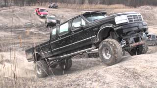 F350 / Danger Ranger / Silverado / people at  Oakville Mud Bog