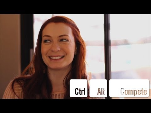 Felicia Day interview - Ctrl+Alt+Compete: Invent The Future