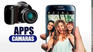 INCREÍBLES Aplicaciones de CAMARA para android 2017 | Best cameras for android 2017