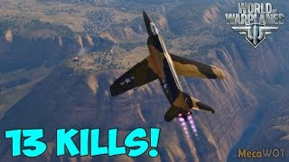 World of Warplanes | Lockheed XF-90 | 13 KILLS - Replay Gameplay 1080p 60 fps