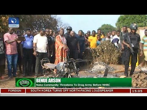 Naka Community Threatens To Drag Army Before NHRC | News Across Nigeria |
