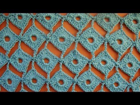 Уроки вязания узоров крючком - видео