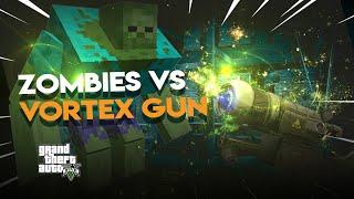 Minecraft Zombies vs VORTEX GUN | Gmod Fun #279