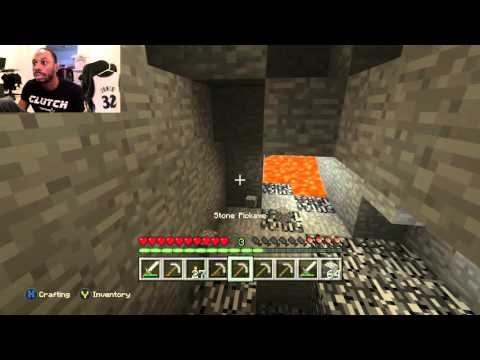 Diamond Hunting and Gold Mining!! Funny Noob Minecraft Gameplay #9