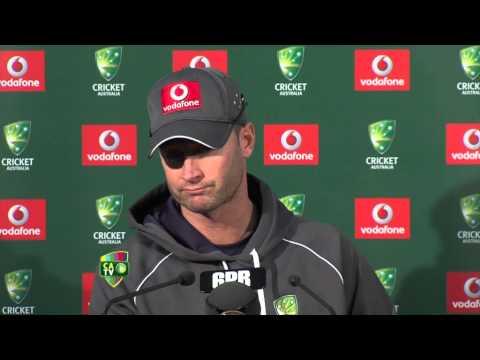 Michael Clarke press conference - Nov 29th