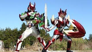 鎧武/ガイム外伝 仮面ライダー斬月/仮面ライダーバロン